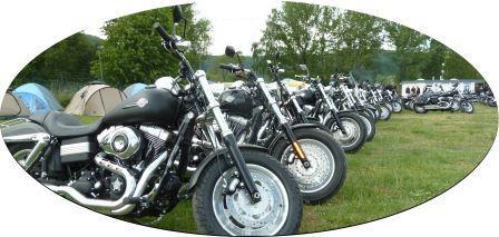 Fat Bob Motorrad Treffen